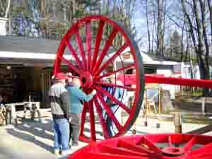 Making the Big Wheels