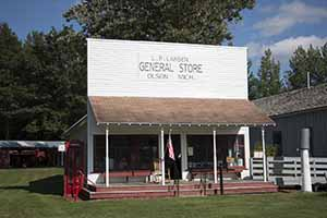 Olson General Store - Moved in 1993.